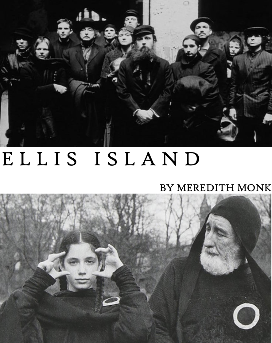 """- ELLIS ISLAND, 1982 (USA)Between 1892 and 1954, over 12 million people arrived at Ellis Island, hoping to enter the United States. For the 280,000 who were turned back, Ellis Island became the """"Isle of Tears."""" Blending dance, fiction and ghostly imagery, Meredith Monk evokes a dark American legacy.Director: Meredith MonkLength: 28minWhere and when: Deptford Cinema, Sunday 2 December, 12:00noon"""