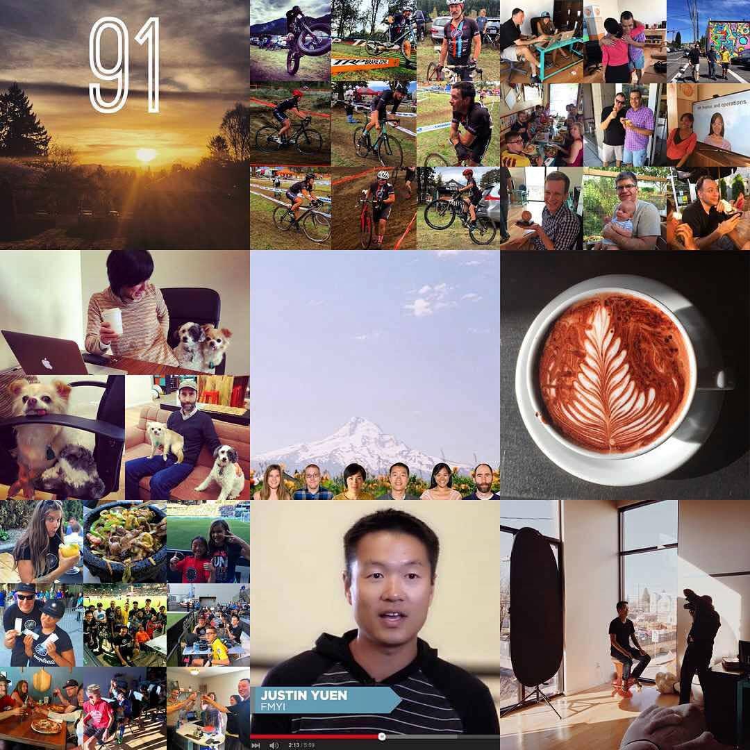 Thanks for a great 2015 - here's our top nine photos by the number of likes!