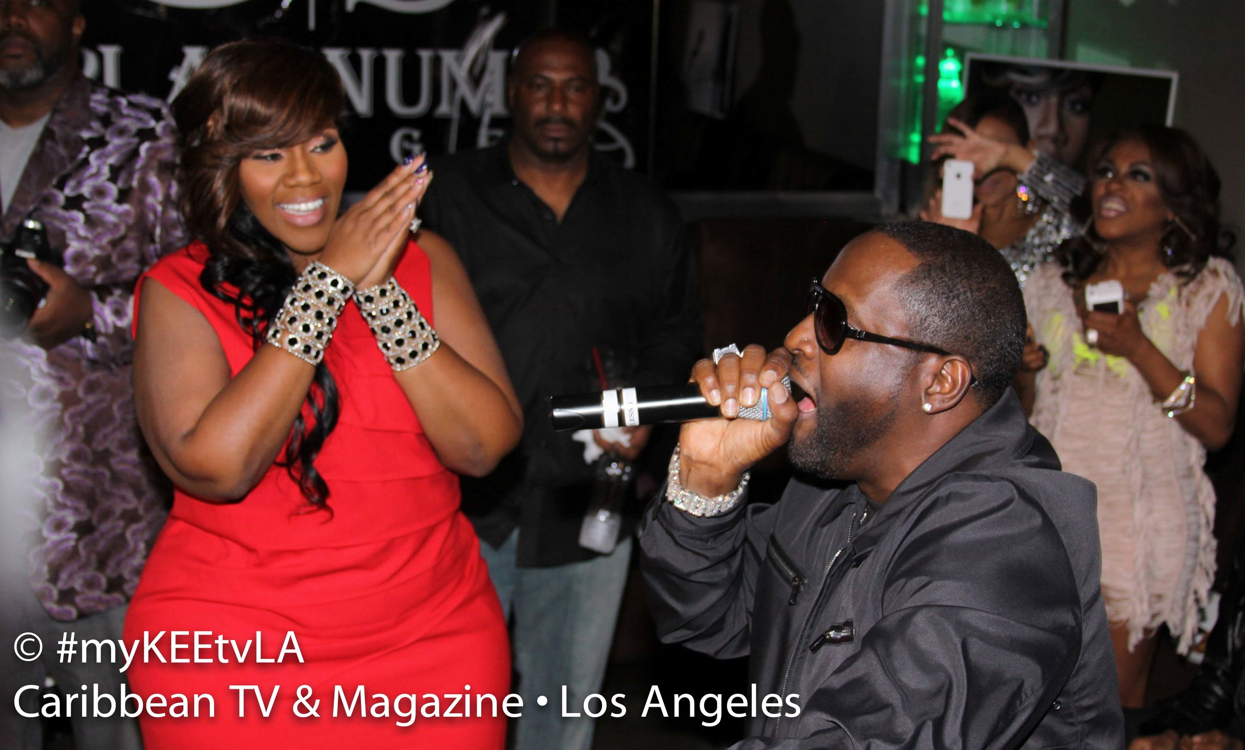 Johnny Gill & Kelly Price