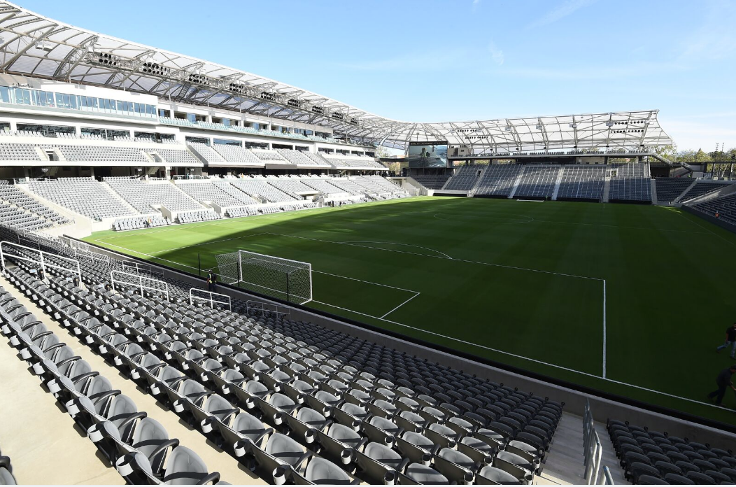 The new Banc of California Stadium for Gold Cup 2019