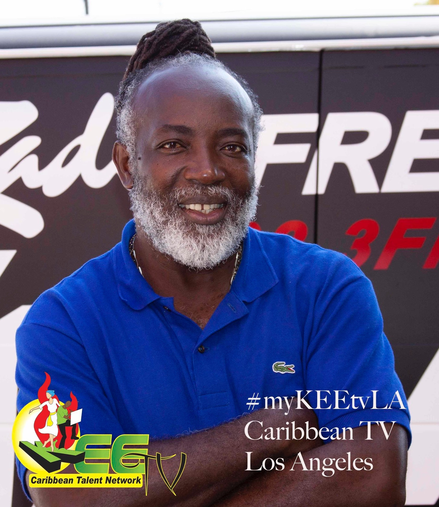 Freddie McGregor, reggae legend and a national treasure of Jamaica.
