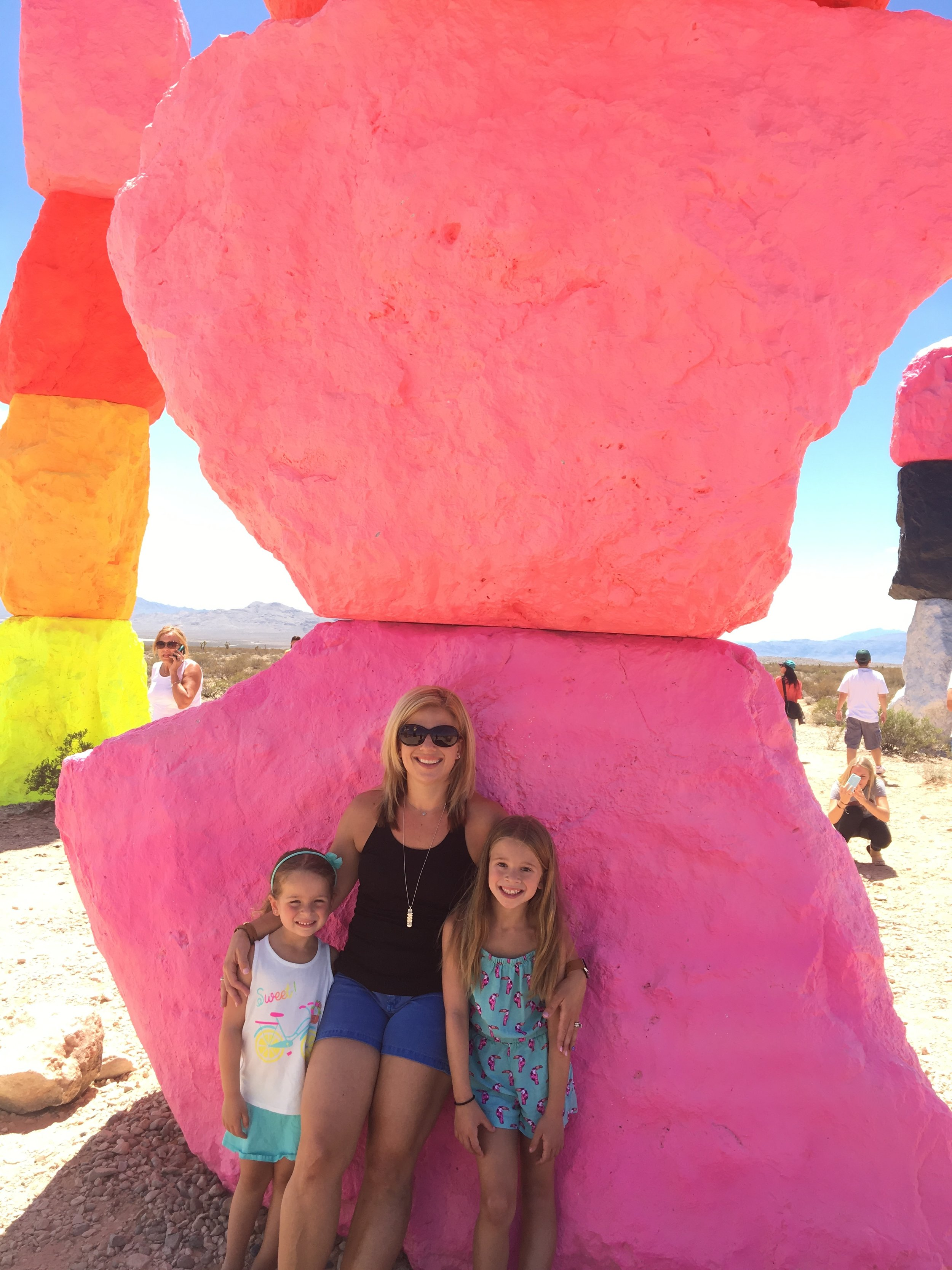 Allowing me to take my kids to Las Vegas to visit our cousins.    -Sabrina L., New Jersey