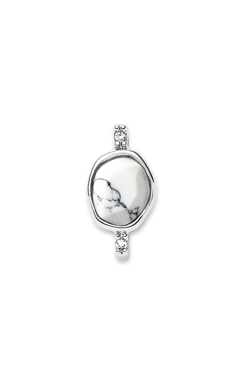 Bezel Solitaire - Howlite- Collector's Edition