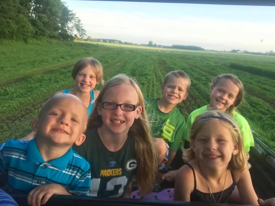 Summertime gator rides!  -Amanda P., Wisconsin