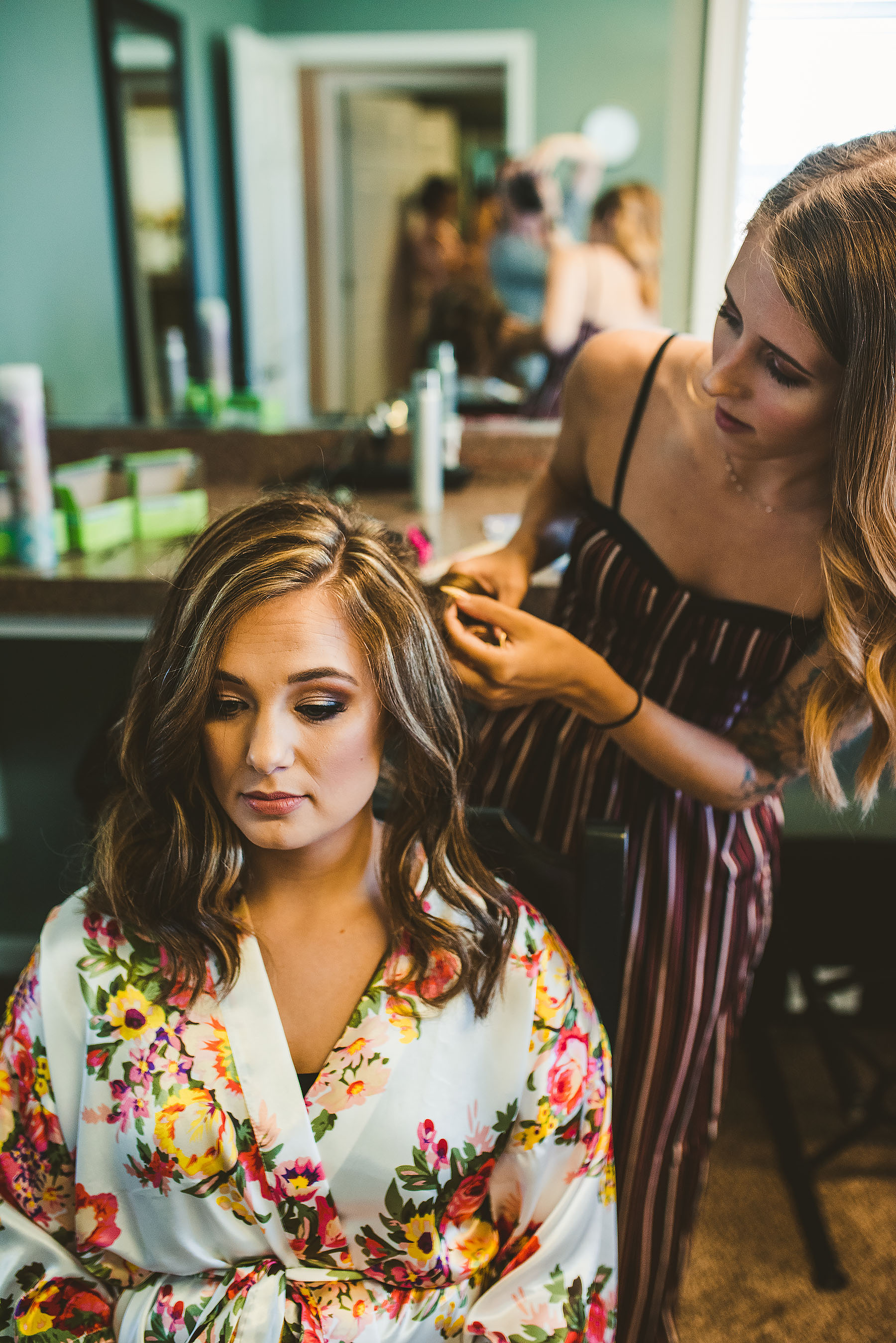 1. Hair & Makeup shouldn't take more than 3 hours. Discuss these times with your hair and makeup artist so everyone is on the same page and they can bring enough artists for your bridal party and let them know you are on this schedule.
