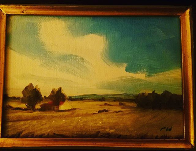 Received my @paulwilliam_artist painting today. Love. #art #artistsoninstagram #nature #landscape #landscapepainting #artwork #museumworthy