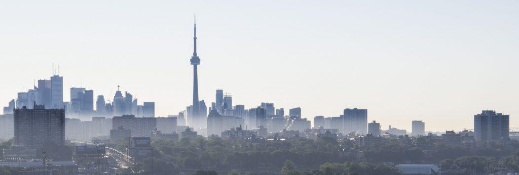 Toronto morning skyline