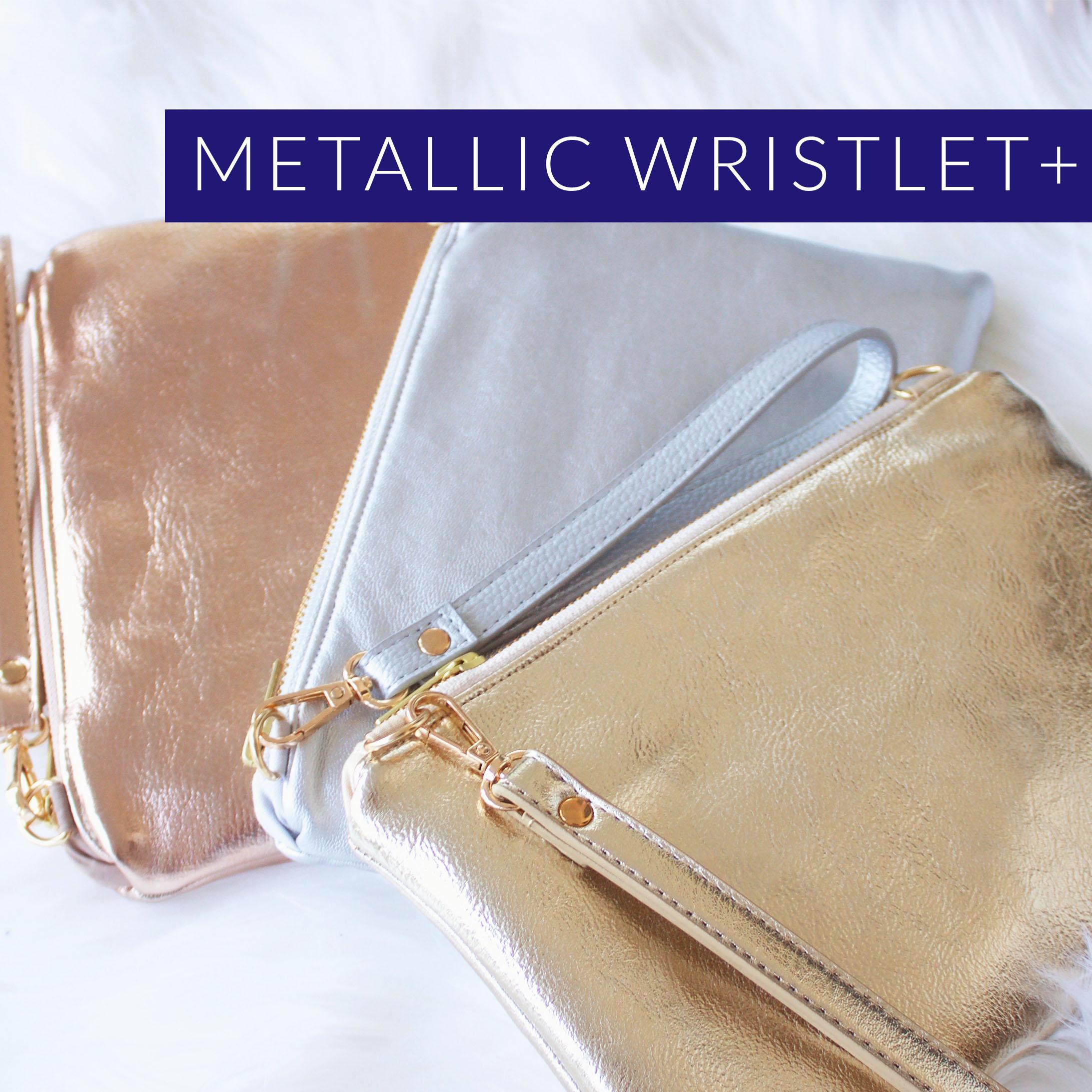 metallic wristlet+ logo.jpg