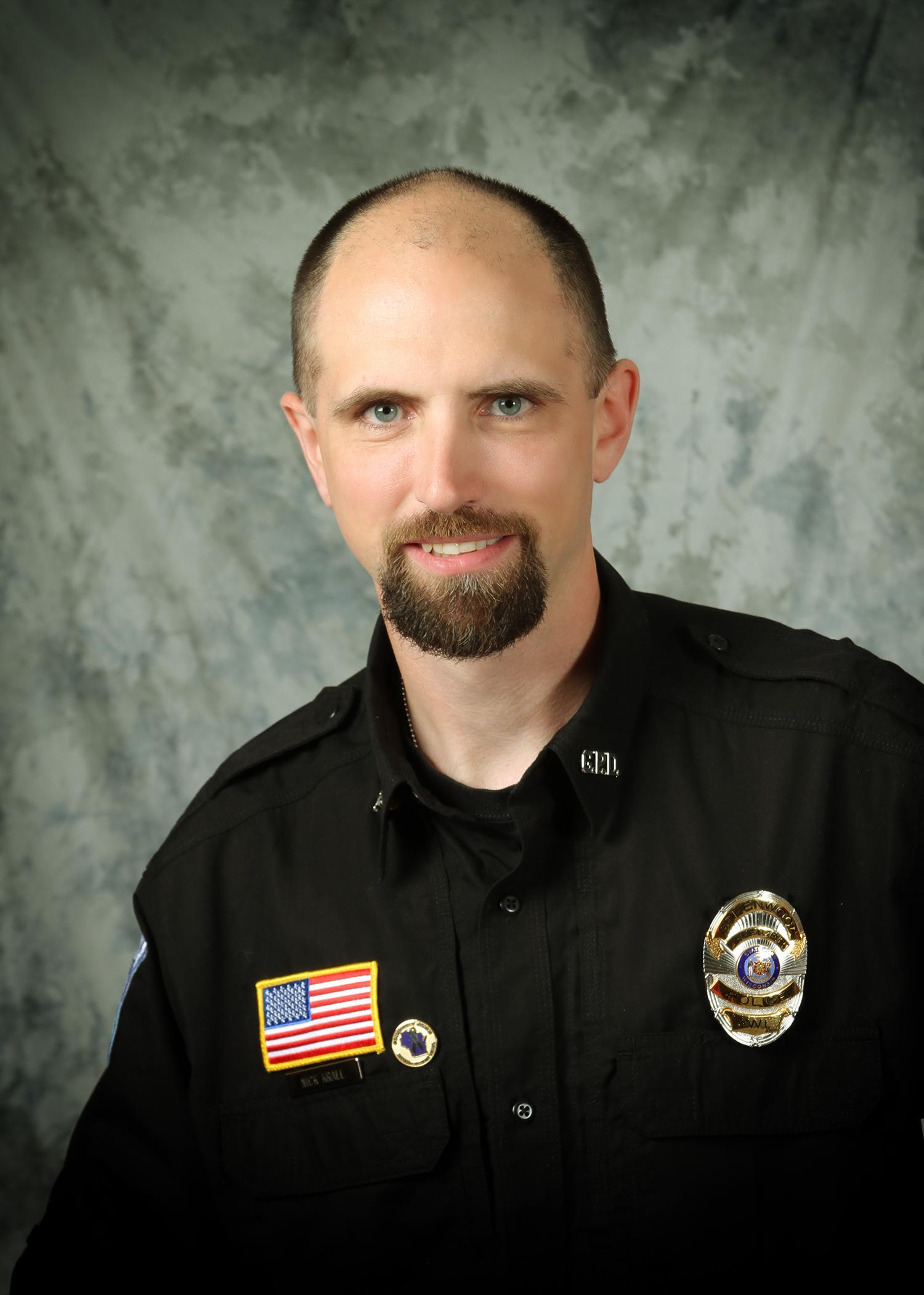 Nicolas Krall - Police Officer   (715)267-6215   nkrall@greenwoodwi.com
