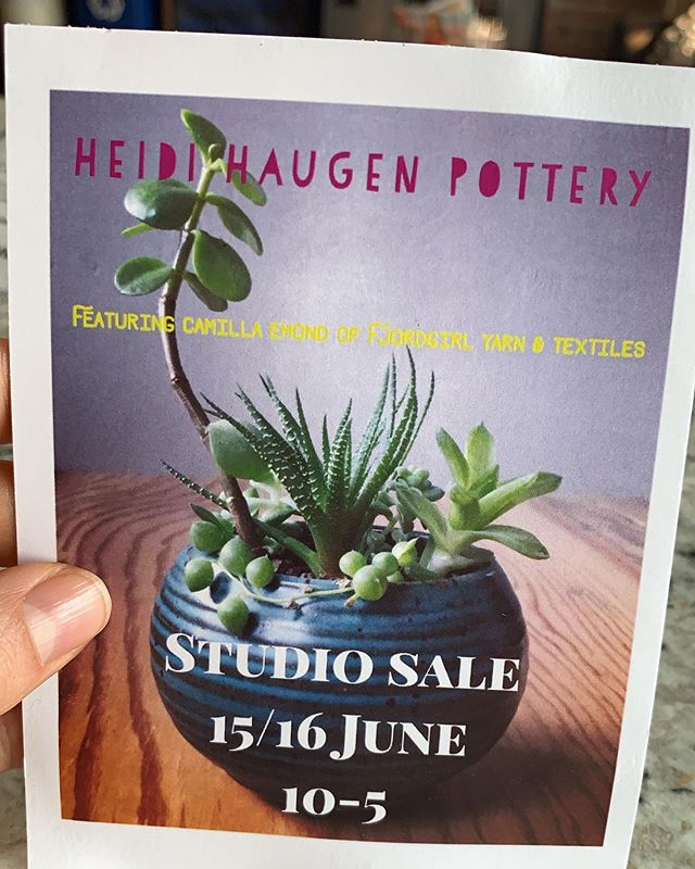 😱Our members are so talented! Be sure to check out the amazing work by @heidihaugenpottery and @camillaemond90 this weekend at Heidie's studio sale! Their items will go quickly so make sure to get there early on Saturday!! You ladies rock!