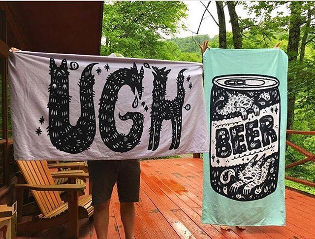 @haypeep beach towels. Get em while it's hot! 📷 by @deerjerk