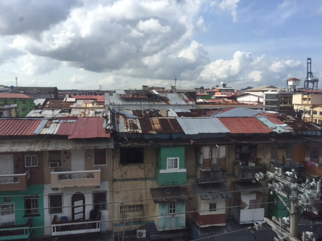Our view from the clinic window in Panama.