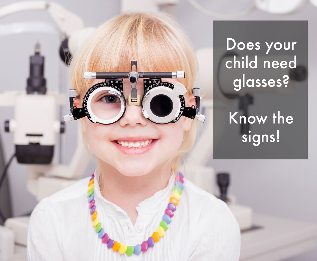 Does your child need glasses? Know the signs!