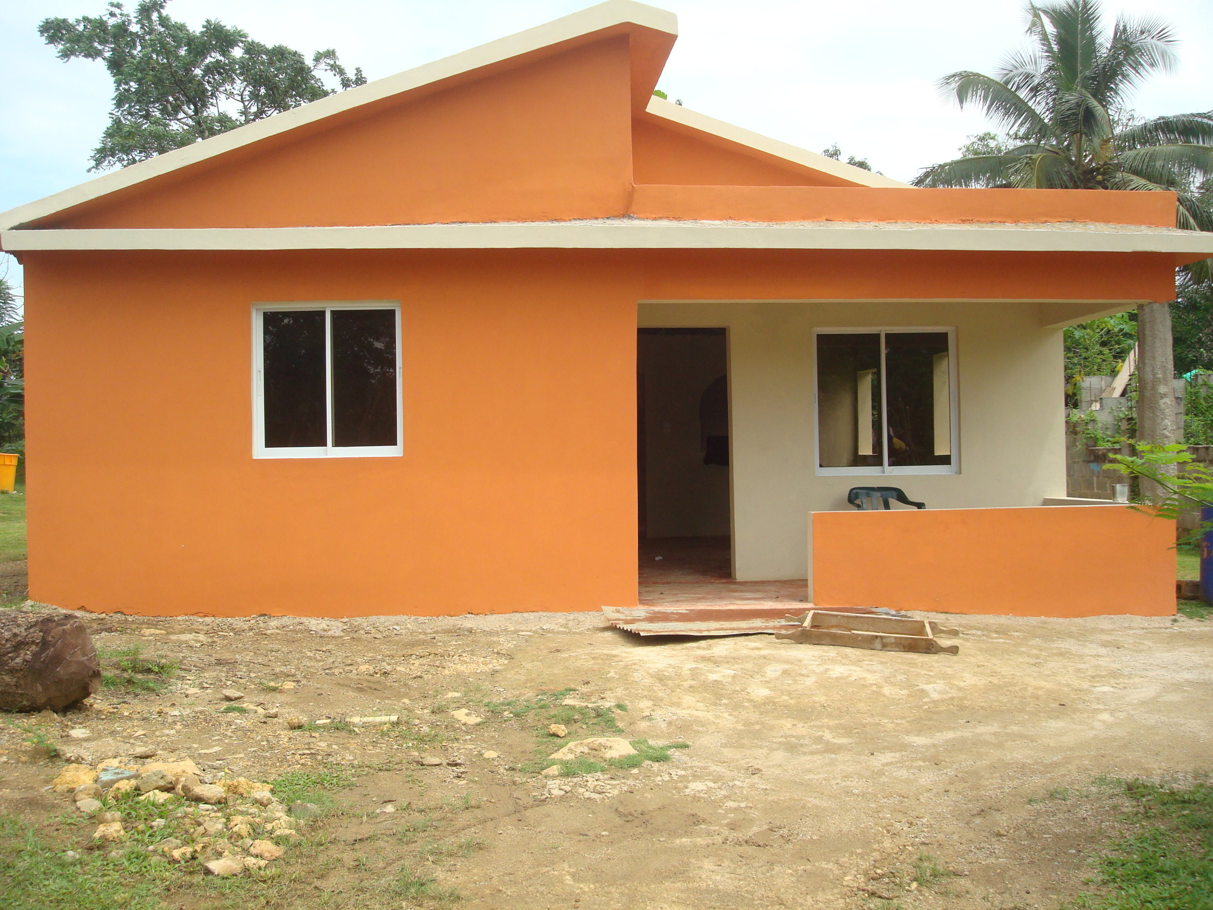 Painted new home