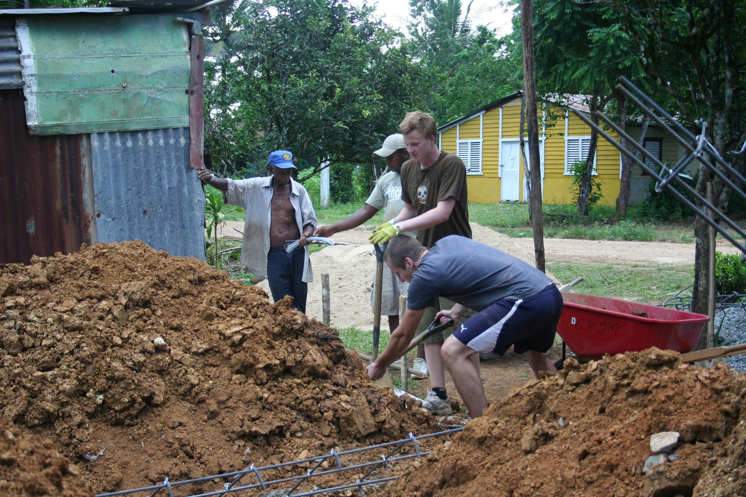 Digging new homefoundation