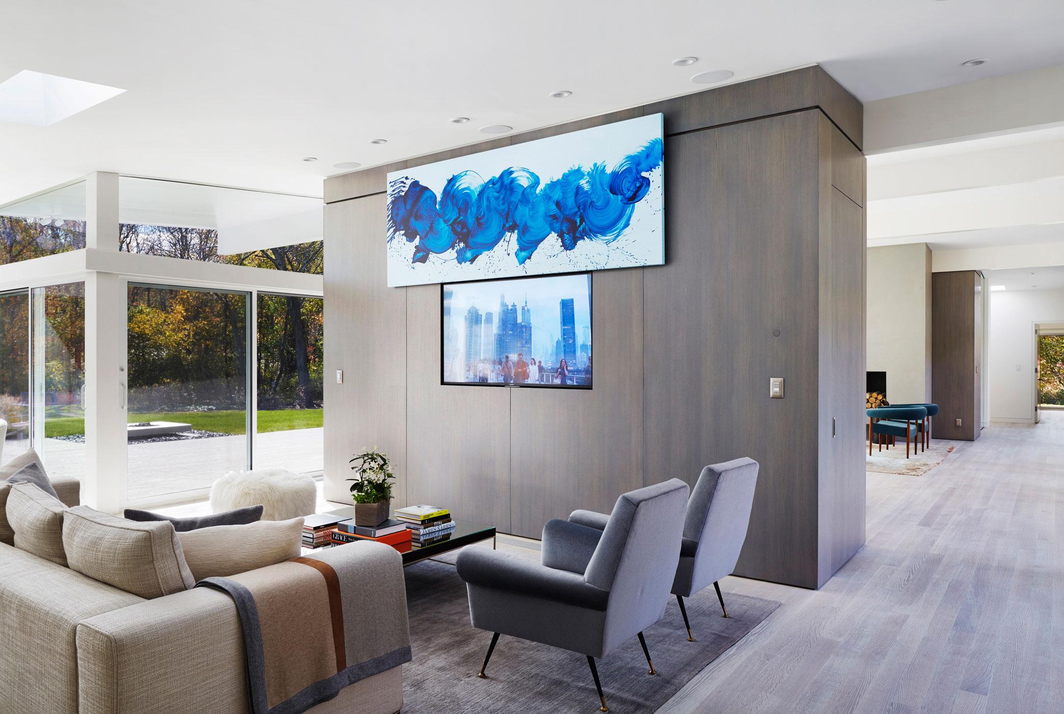 Living - Mid-century Modern House
