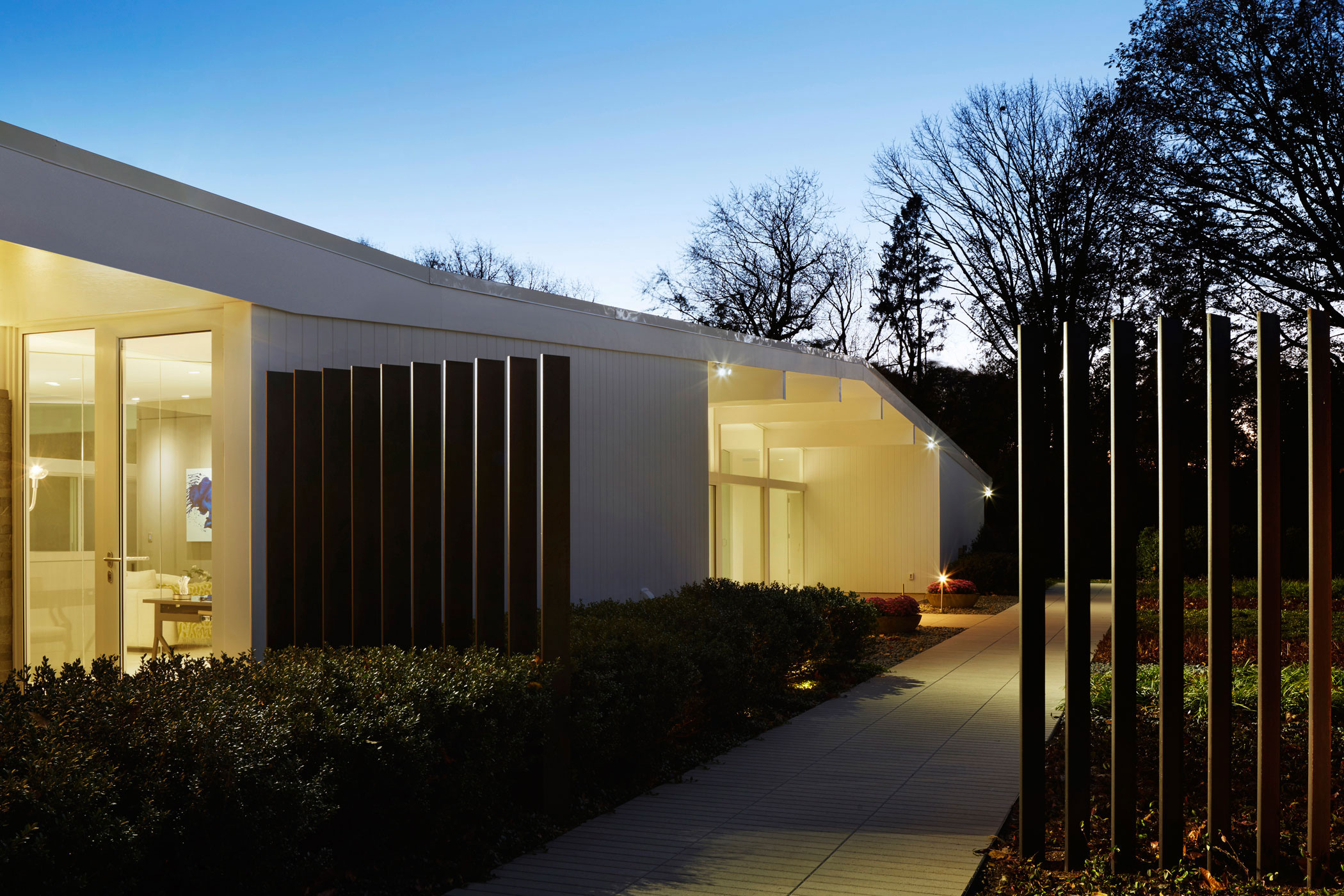 Exterior - Mid-century Modern House