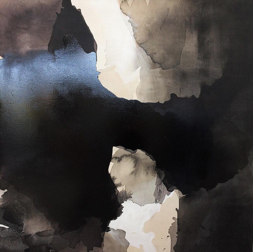 Untitled (2017) Oil on Board, 122 x 122cm, £500