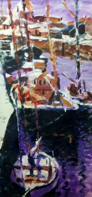 Harbour, 75 x 37cm, £950