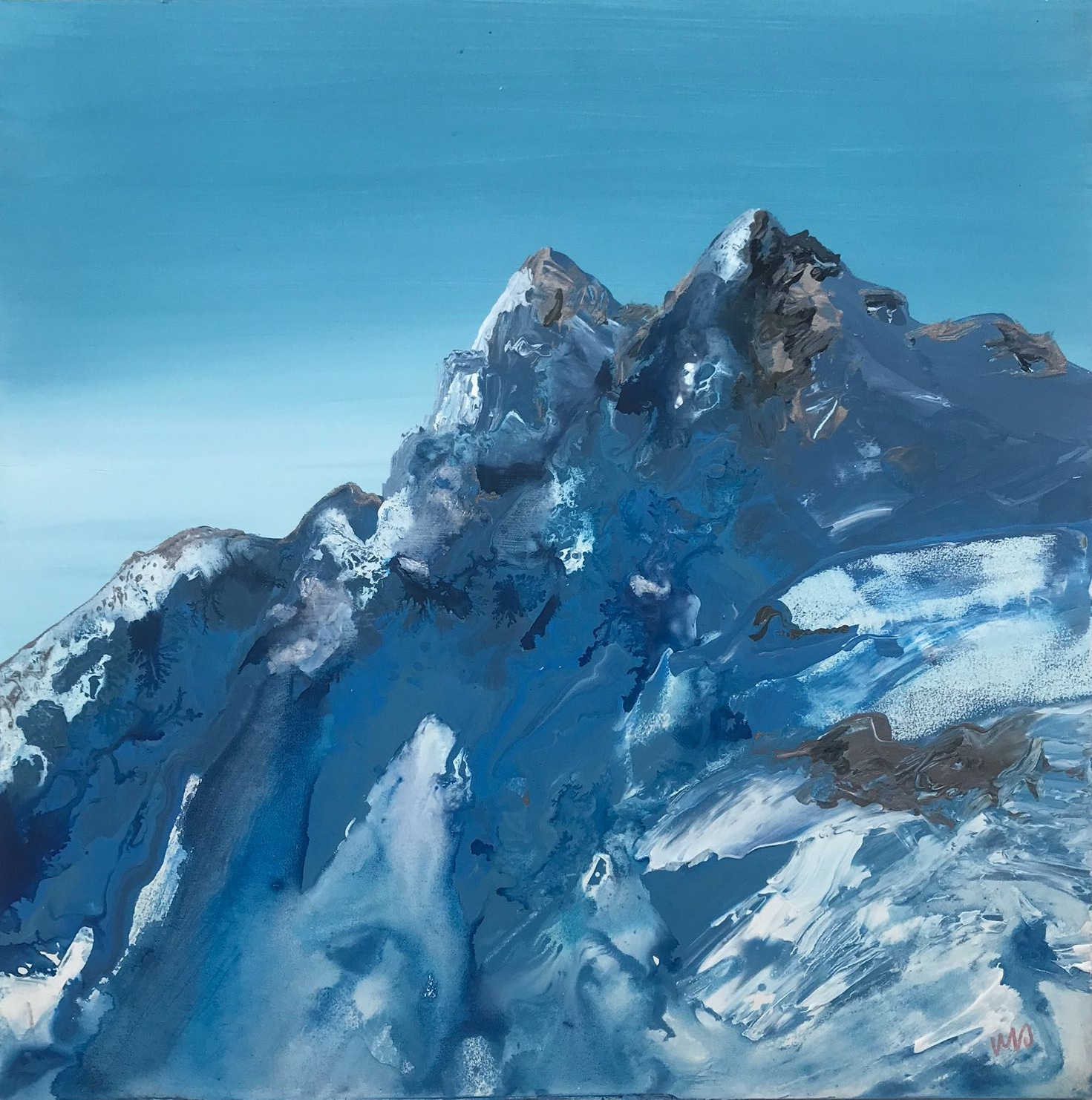 'Swiss Mountains I', 2018.jpg