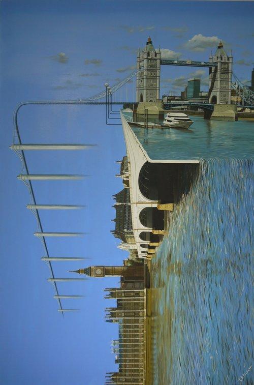 London Conformity, Oil on Linen, 92 x 61cm, £2800