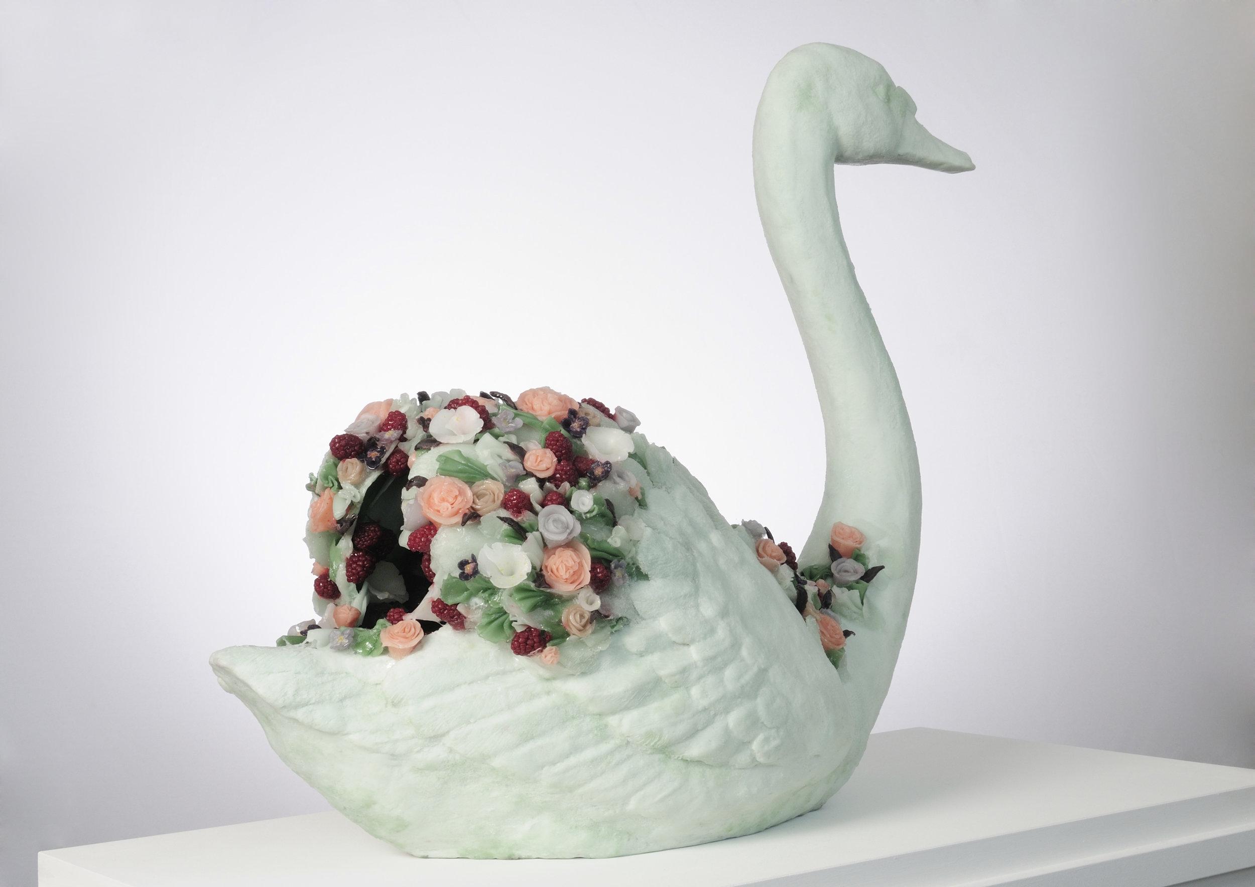 Luxe Vert, 2008, Polyester resin, wax, 80 x 65 x 35cm, £8,800