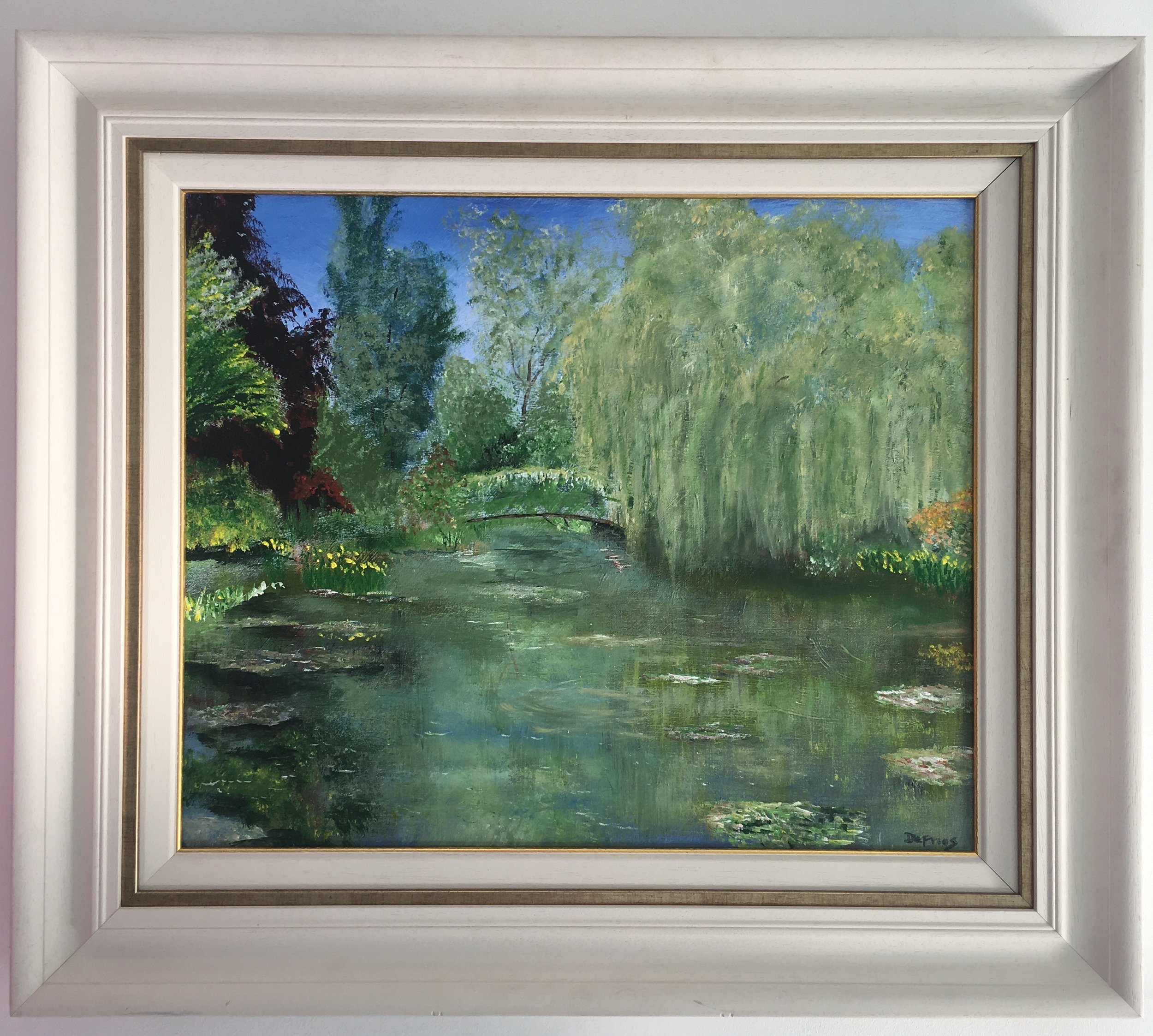 Willow, Giverny, 50 x 60cm, £975