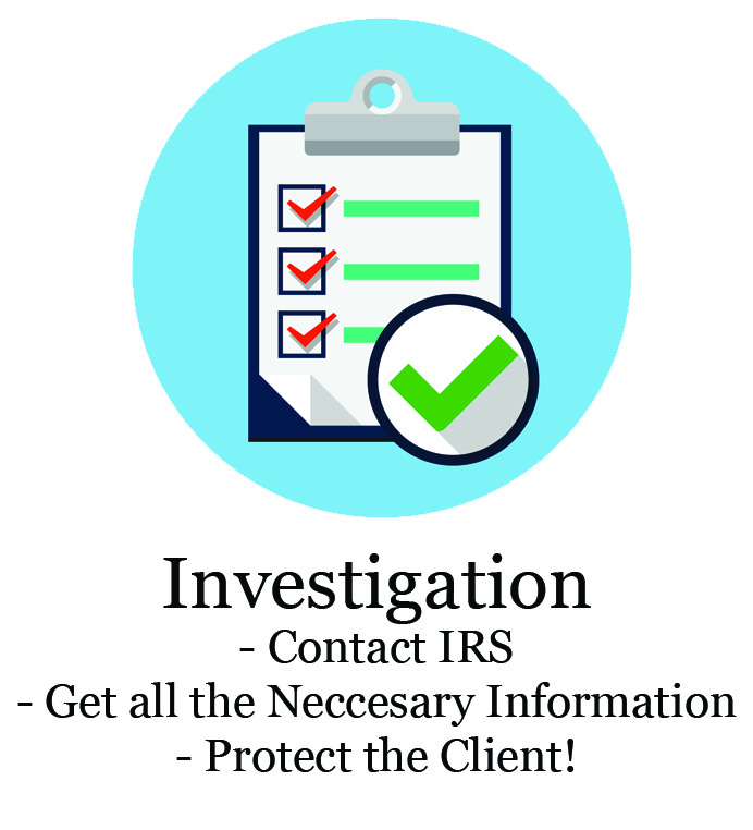 investigate taxes owed to the IRS