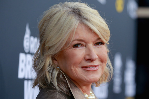 Martha Stewart - Getty Images