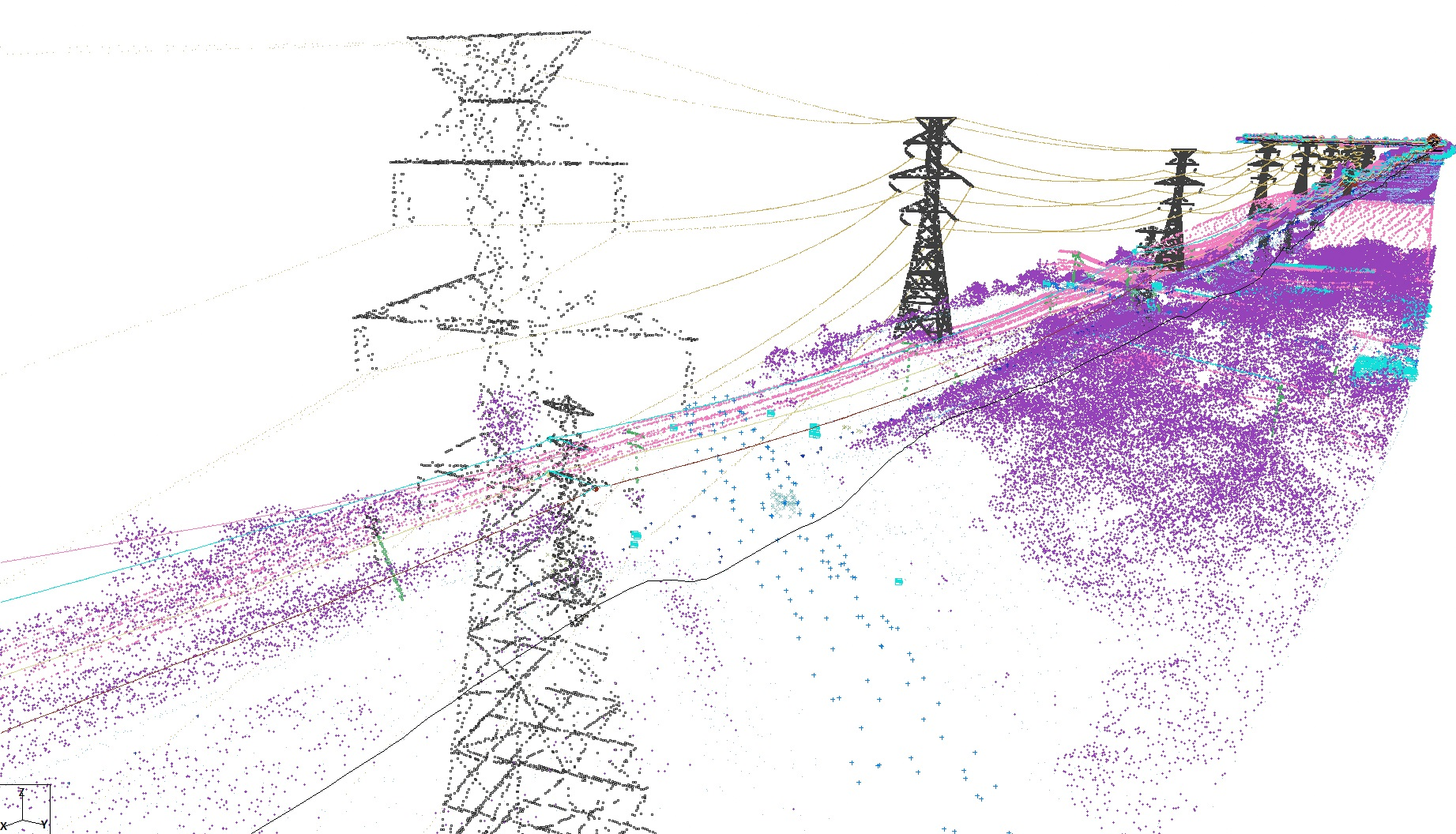 Utility Inspection - Using in-house created Li-dar and Thermal imaging, you can inspect utilities and structures with sub, quarter inch resolution's.