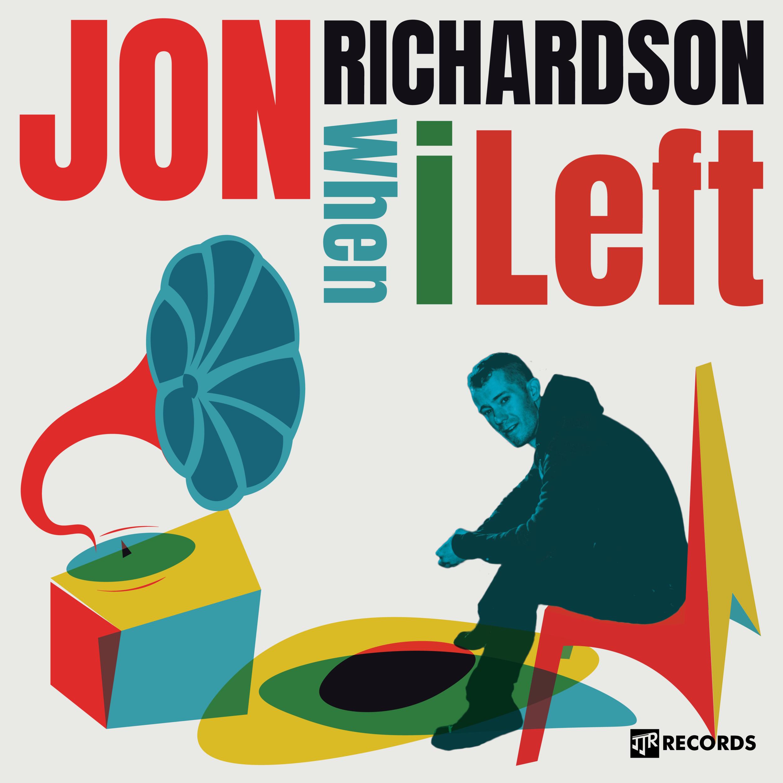 Jon Richardson's second studio album - listen today @BandCamp
