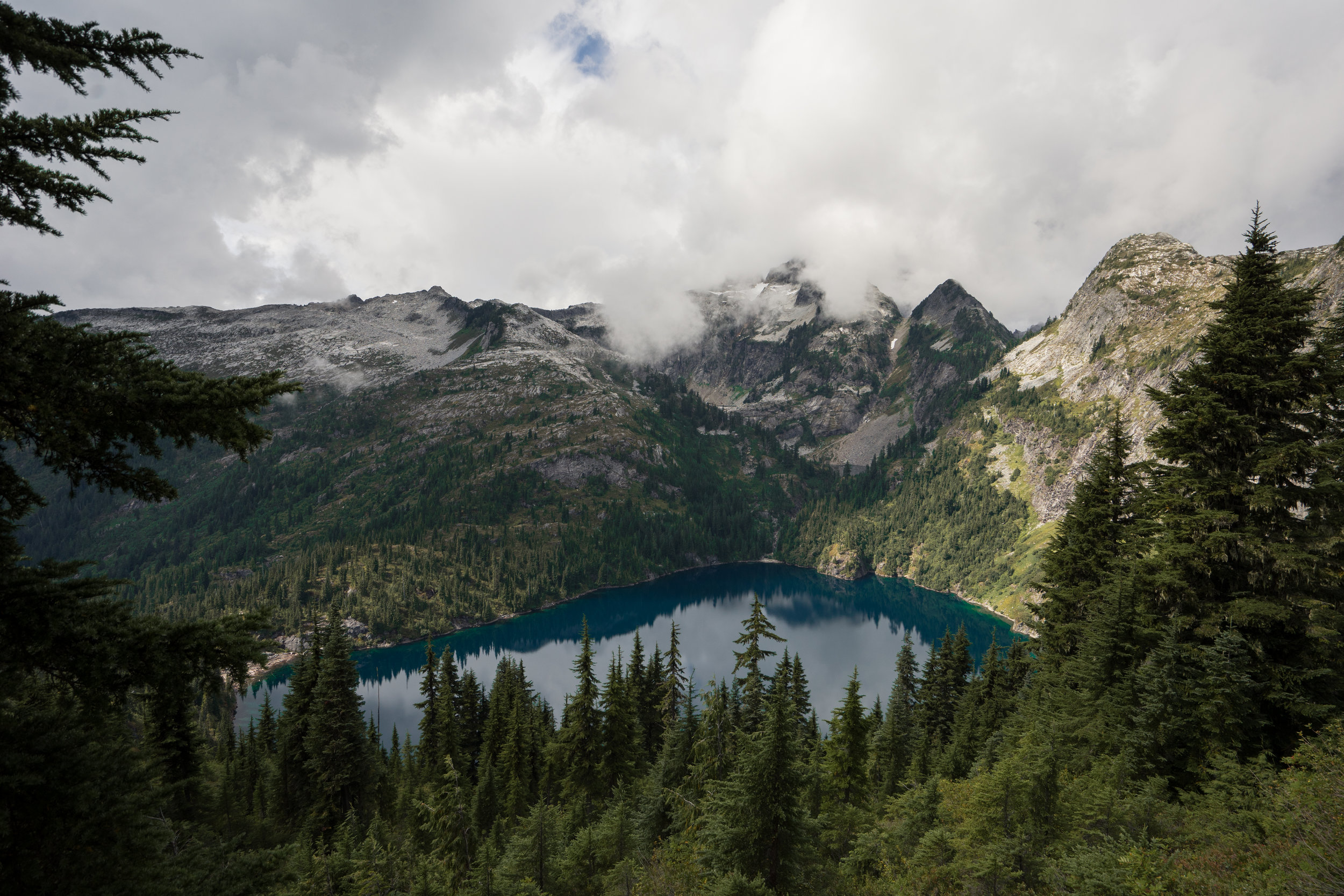 Thornton Lakes in North Cascades National Park in Washington