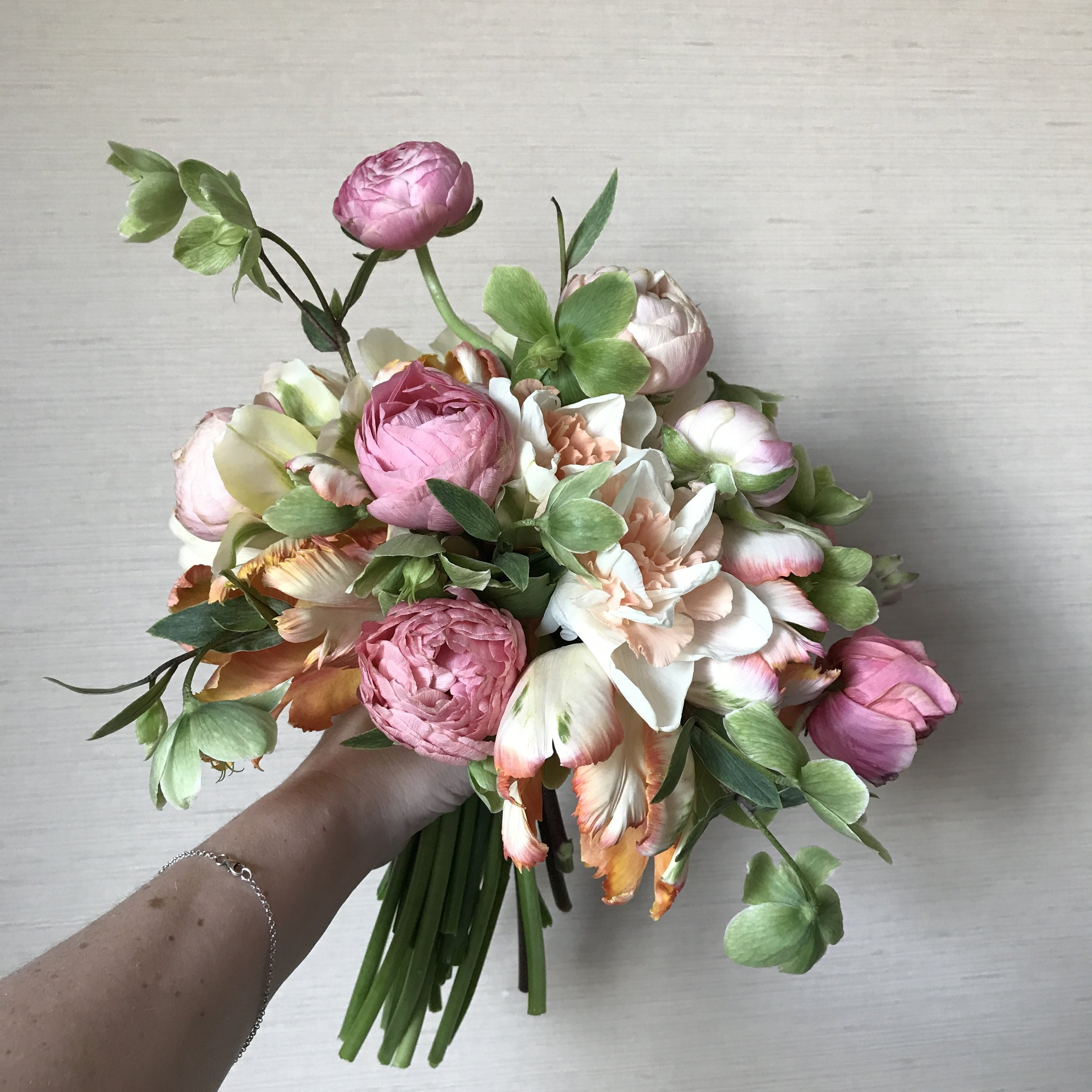 Bouquet with Ariella Flowers