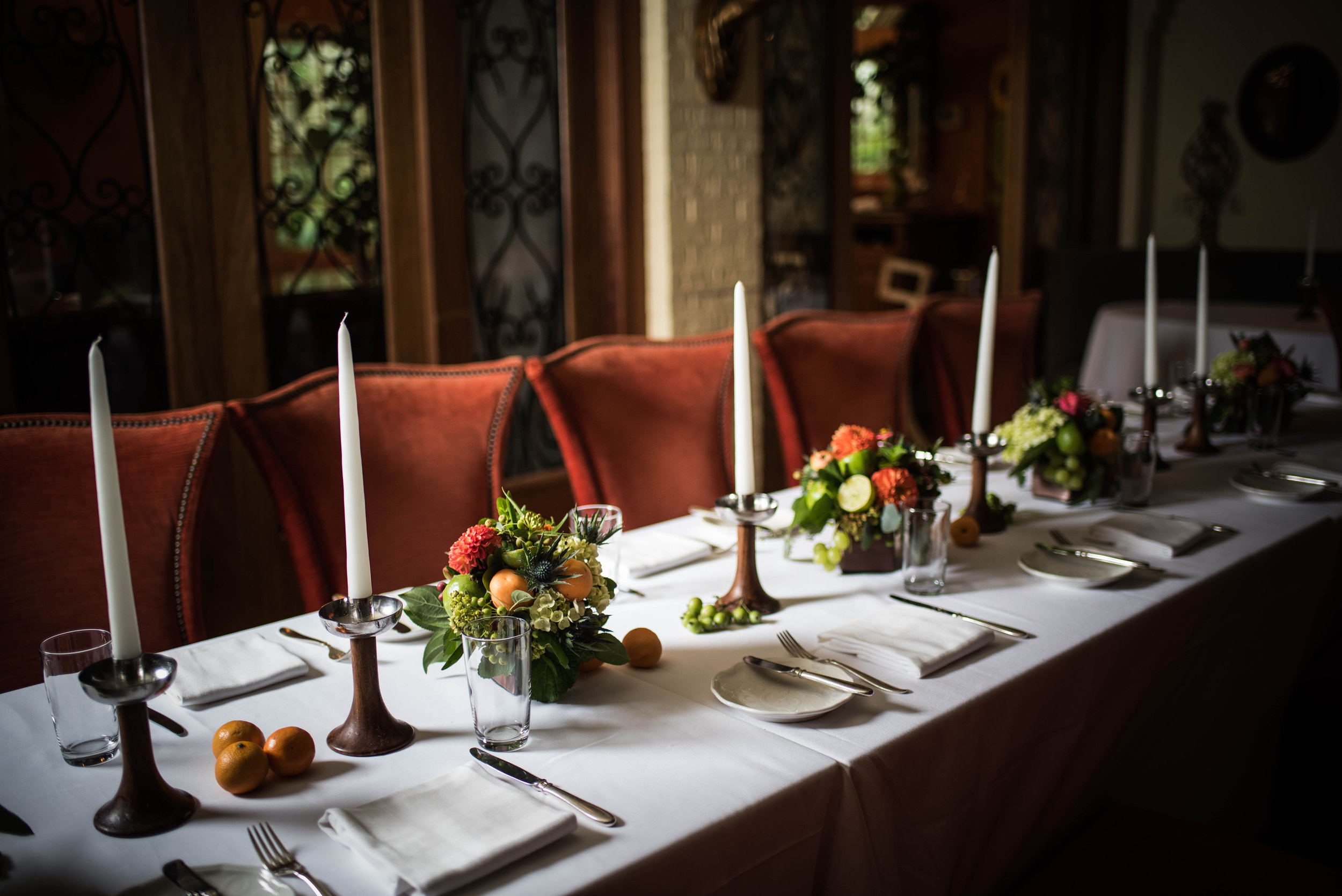 Restaurant Eve in all its dutch master glory by   Erin Tetterton