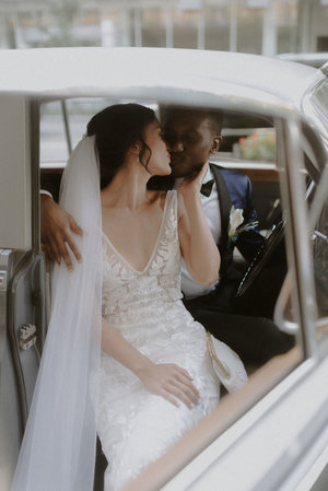 Karina and Ibrahim photographed by  Violet Short   Venue: Ritz-Carlton DC planned by  Bridal Silhouette