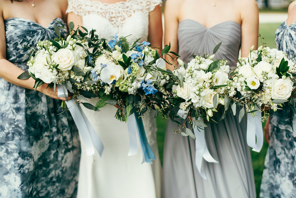 Atelier Ashley Flowers + Woodlawn + Pope Leighhey House + Anna Reynal Photography + DC Weddings + DC Florist + bridesmaids bouquets + friends