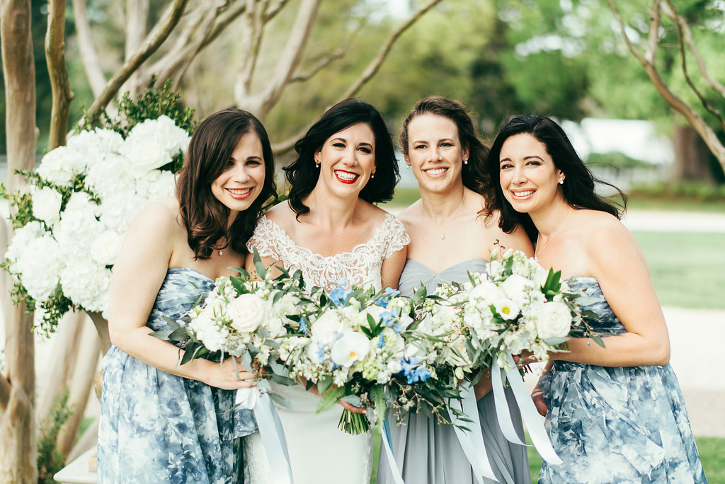 Atelier Ashley Flowers + Woodlawn + Pope Leighhey House + Anna Reynal Photography + DC Weddings + DC Florist  + bridal bouquet + bridesmaids + floral bridesmaids dresses + dusty blue + blue and white-67.jpg