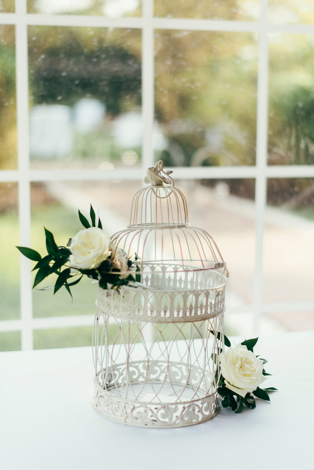 Atelier Ashley Flowers + Woodlawn + Pope Leighhey House + Anna Reynal Photography + DC Weddings + DC Florist + card cage