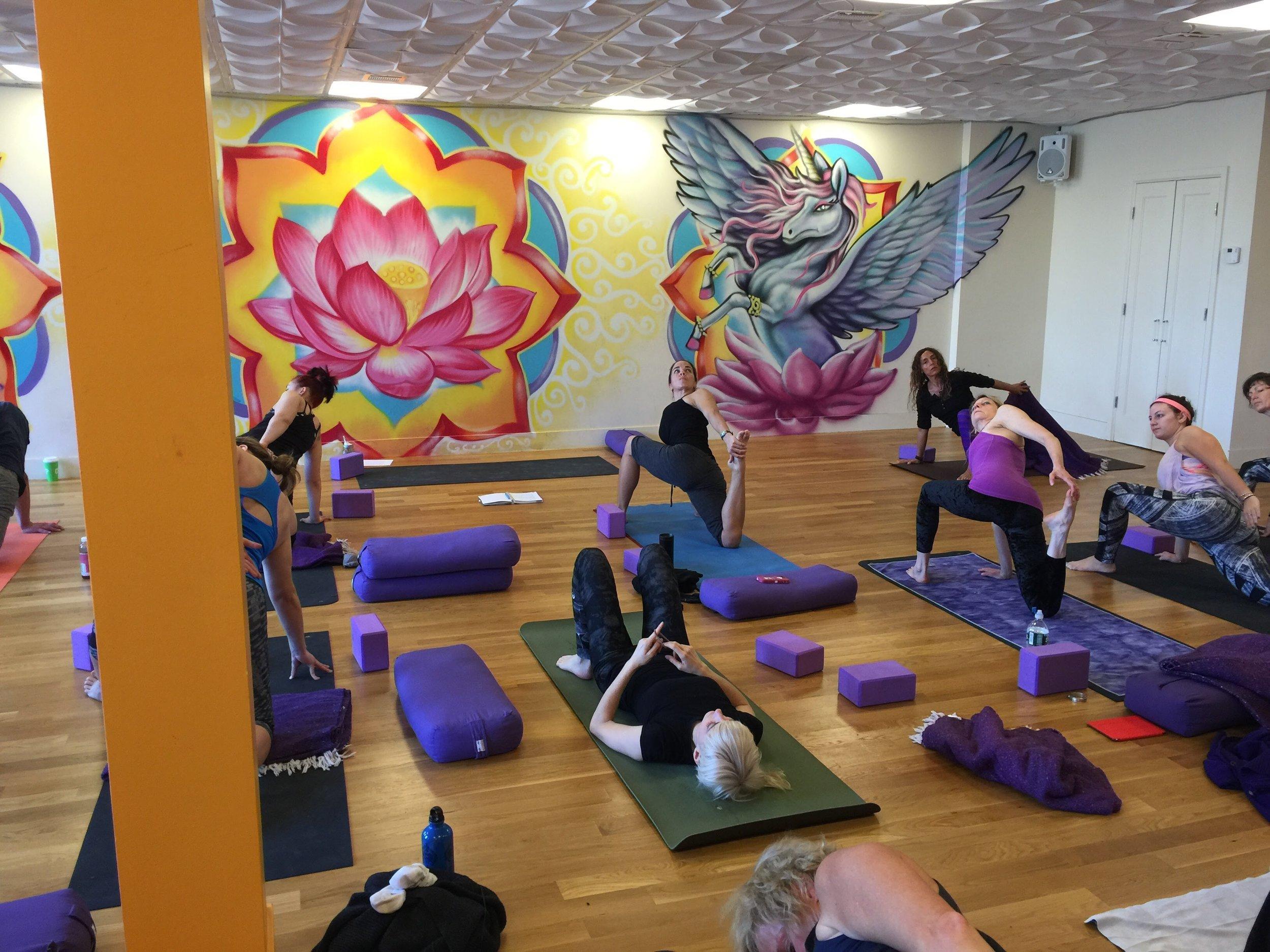 Sadie Nardini's Core Strength Vinyasa Advanced Teacher Training at Laughing Lotus Brooklyn