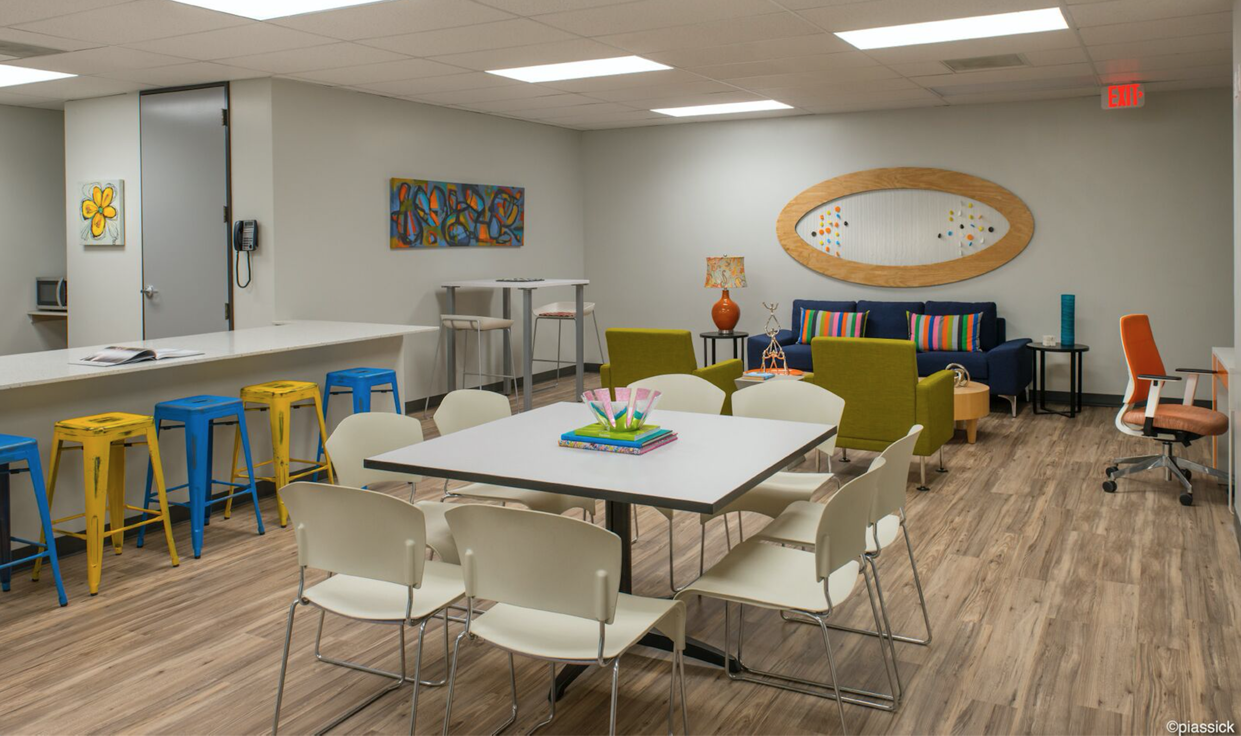 Common area in the New Friends New Life Youth Resource Center. Photo courtesy of New Friends New Life.
