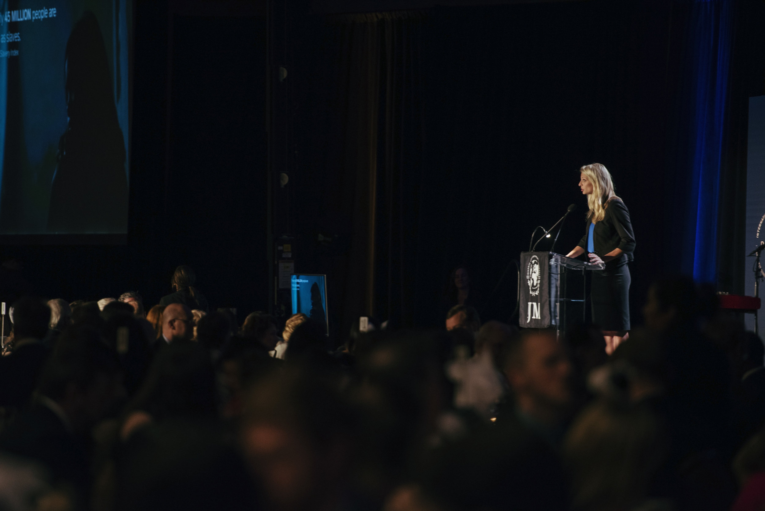 Mallory provides an overview of IJM's work at the 2017 Dallas Benefit Dinner at the Omni Hotel Downtown.