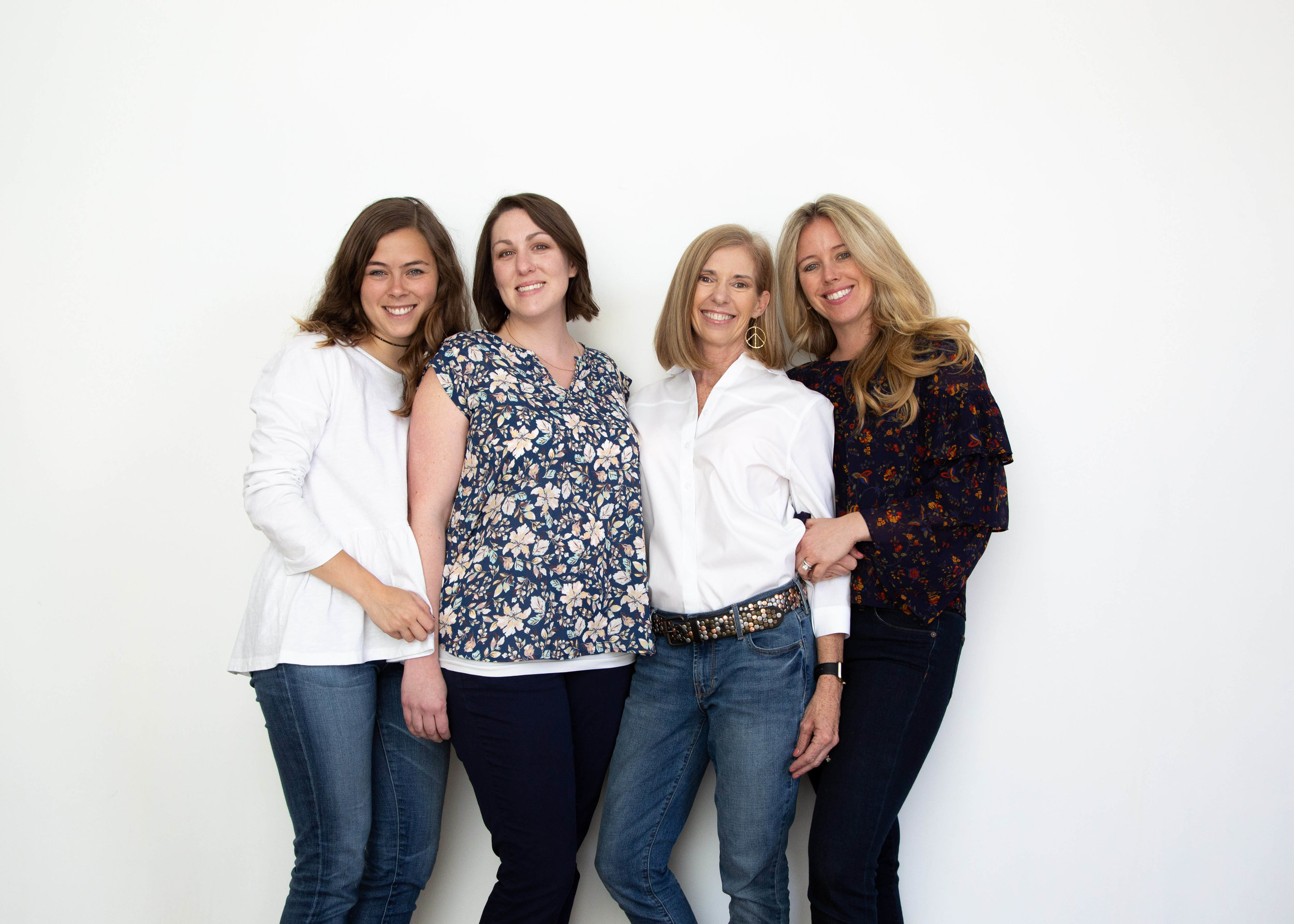 The Dallas Doing Good leadership team. L to R - Hunter Lacey, Mary Martin, Jan Osborn, Rachel Brown. Photo by Hunter Lacey.