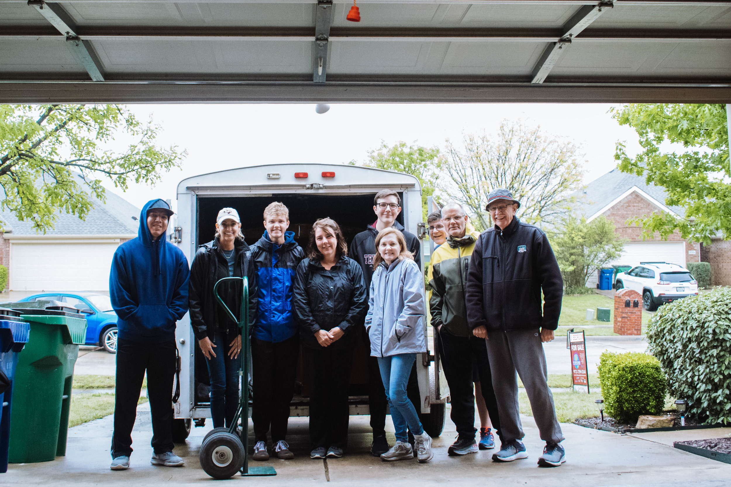 Bed Start is run by a completely volunteer team out of a small shed at Custer Road UMC.