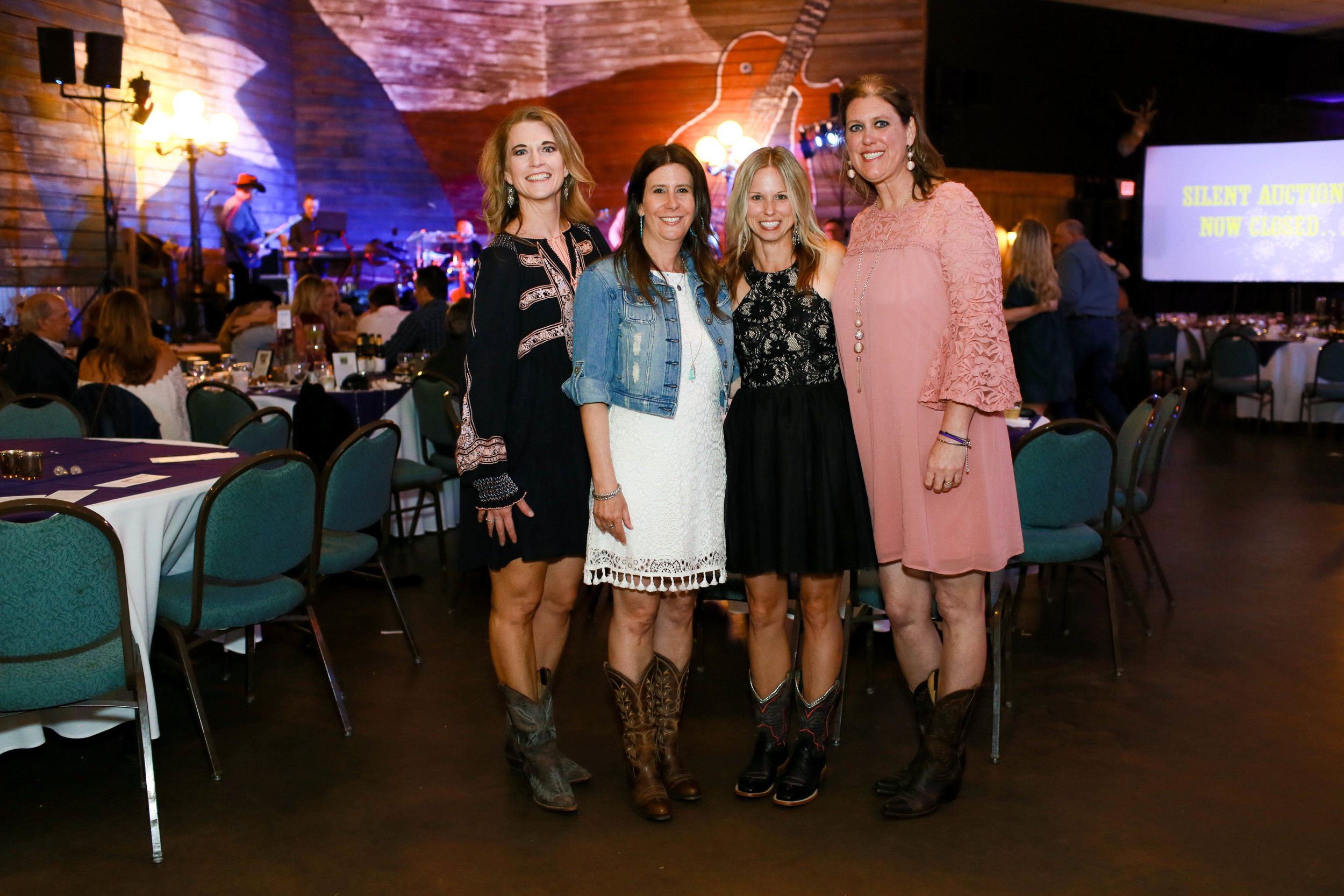 Ally's Wish co-founders Holly, Melissa, Missy, and Heather.