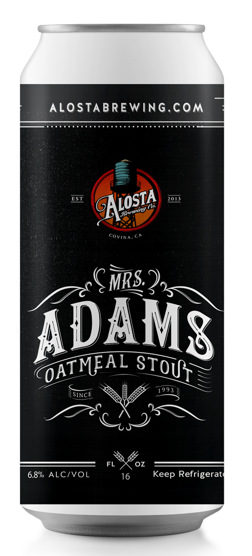 Mrs. Adams Oatmeal Stout