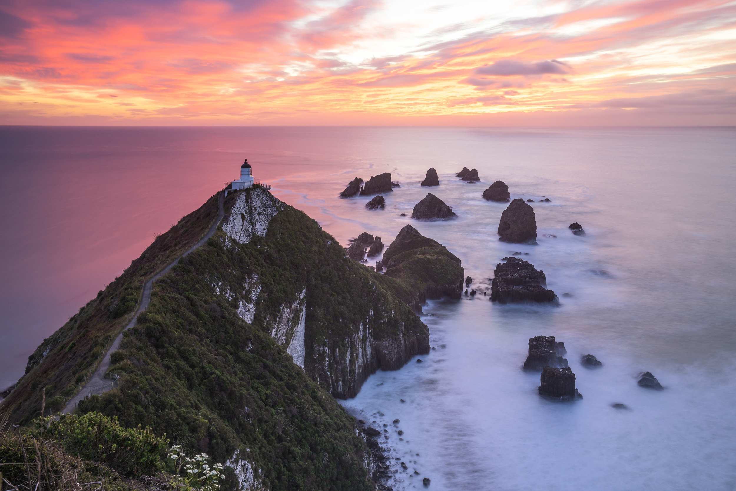 The Nugget Point sunrise was epic