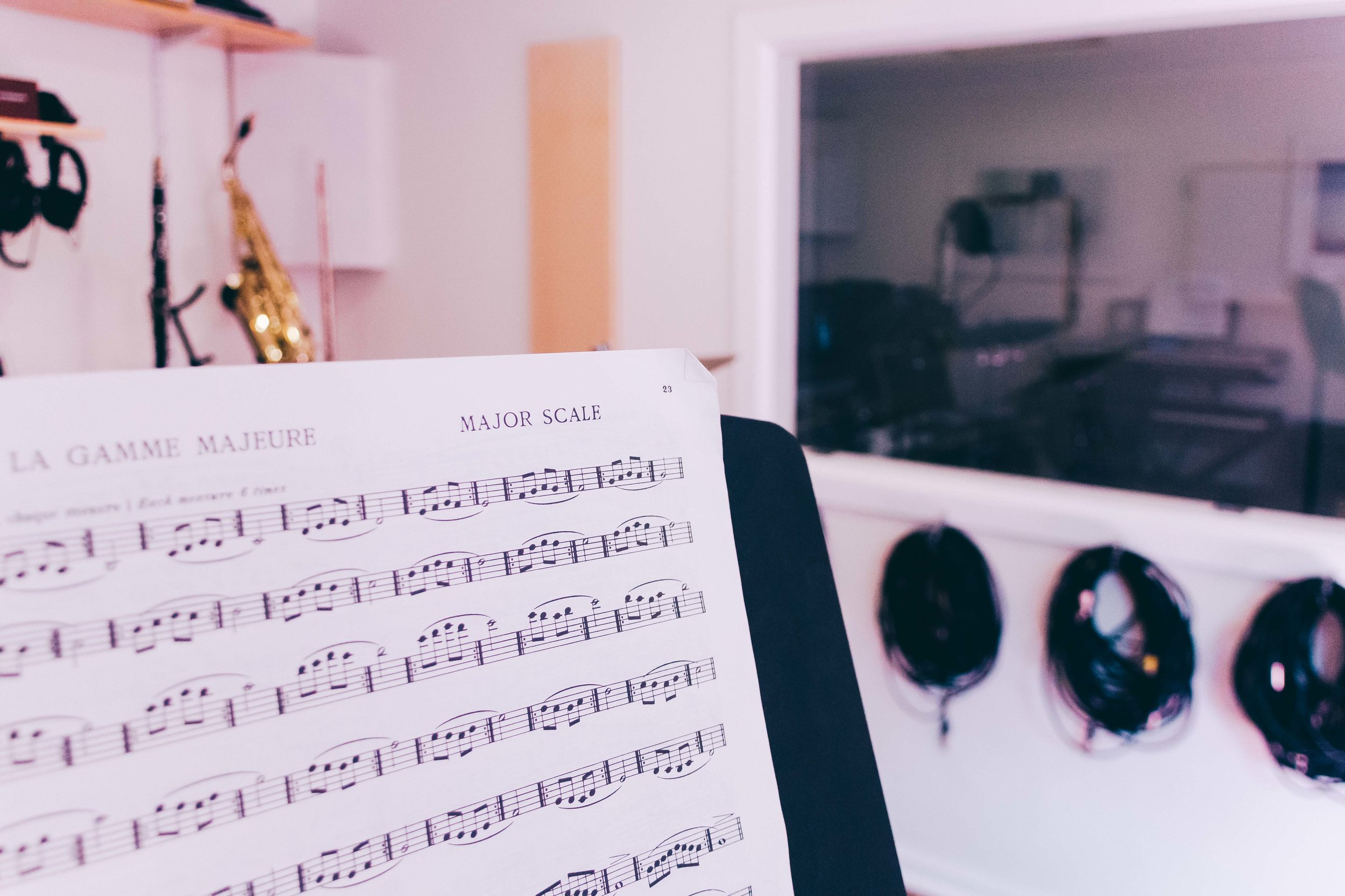 Learn to read music at Heavy Feet Studios in Wallsend, Newcastle