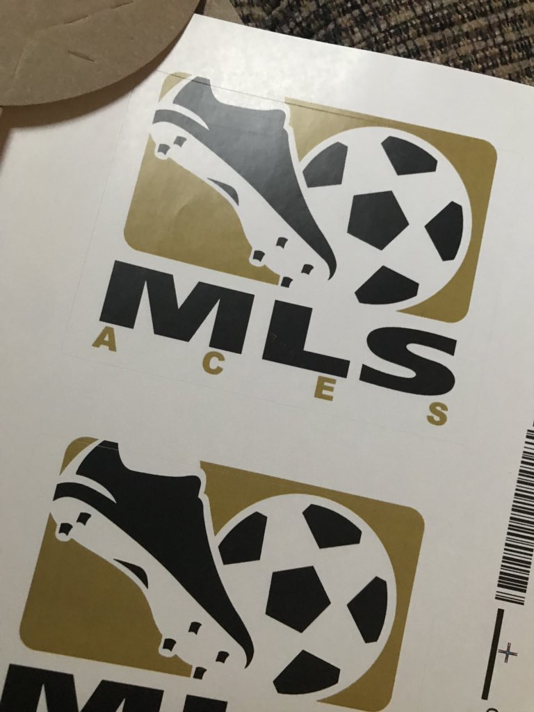 BRAND NEW MLS ACES STICKER CREATED BY JASON VEVANG!