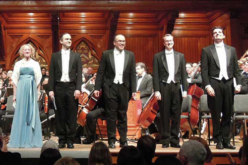 Soprano soloist, Bach's Christmas Oratorio, Harvard Radcliffe Society