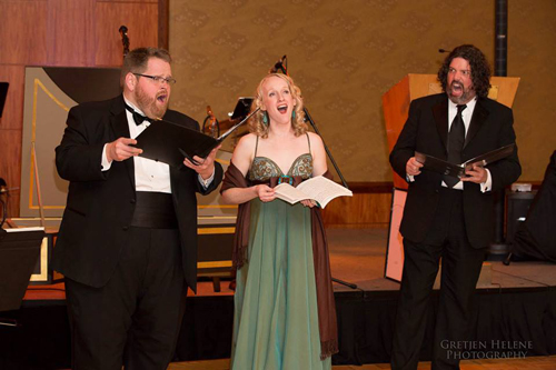 """Galatea"", Tenor, Stefan Reed as ""Acis"", Baritone Bradford Gleim as ""Polyphemus"", Handel's Acis and Galatea, Handel and Haydn Society Gala"
